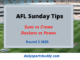 AFL Sunday Tips Round 3