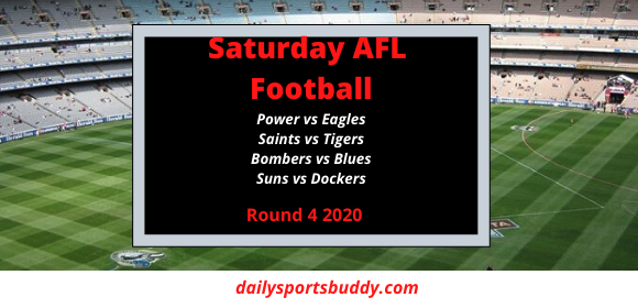 AFL Saturday Round 4
