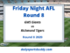 GWS Giants vs Richmond Round 8Tiger