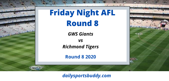 GWS Giants vs Richmond Tigers Round 8