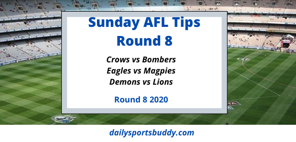 Sunday AFL Tips Round 8 2020