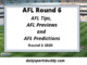 AFL Tips Round 6
