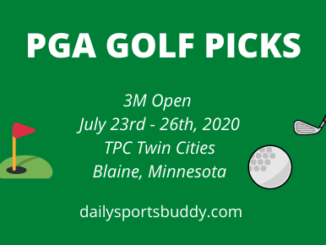 3M Open PGA Picks