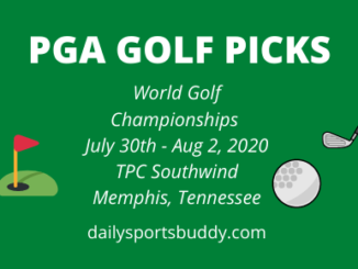 PGA Golf Picks World Golf Championships