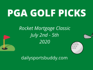 Rocket Mortgage Classic Picks