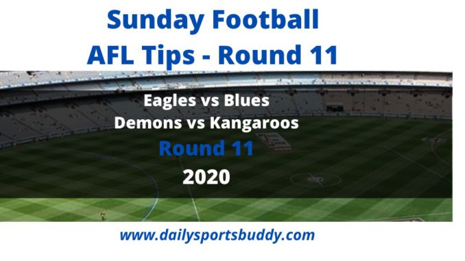 AFL Sunday Tips Round 11