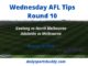 Wednesday AFL Tips Round 10