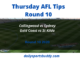 Thursday AFL Tips Round 10