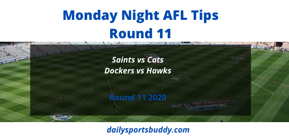 Monday Night AFL Tips Round 11