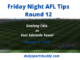 Cats vs Power, AFL Tips Round 12