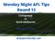 Collingwood vs North Melbourne Tips Round 13