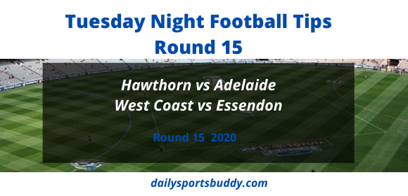 Tuesday Night Football Tips Round 15