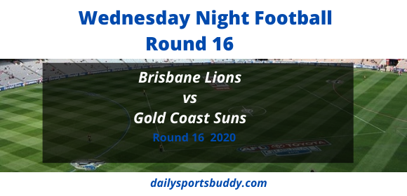 Brisbane vs Gold Coast Round 16