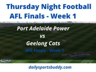 Port Adelaide vs Geelong