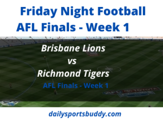 Brisbane vs Richmond AFL Finals
