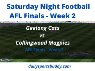 Cats vs Magpies AFL Semi Final