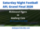 Richmond vs Geelong AFL Grand Final 2020