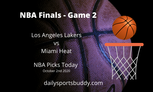 NBA Finals, Game 2 Picks
