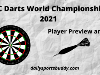 PDC Darts World Championship 2021