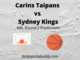 Carins Taipans vs Sydney Kings