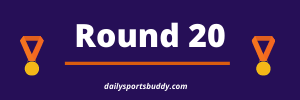 Brownlow Medal Predictor Round 20 2021